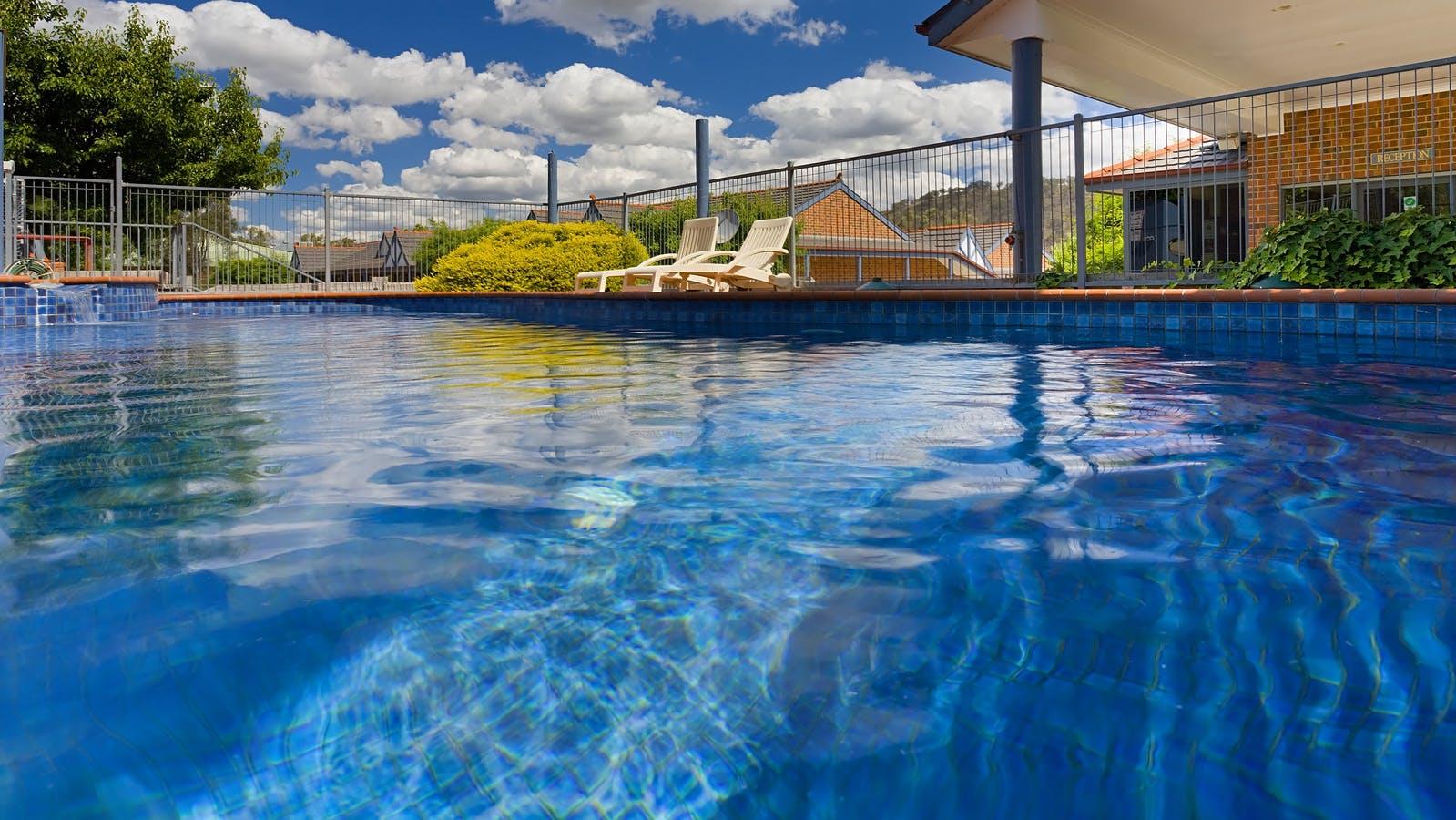 Salt Water Pool and Spa