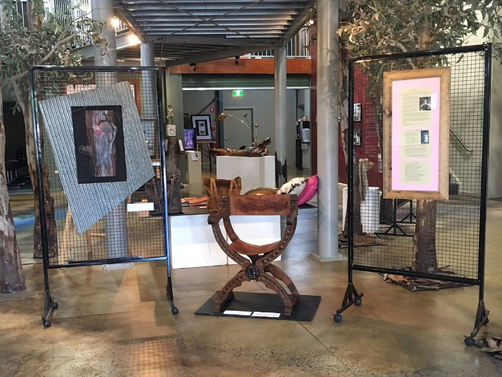 Leather Art - Exhibition at the Nathalia Barmah Visitor Information Centre