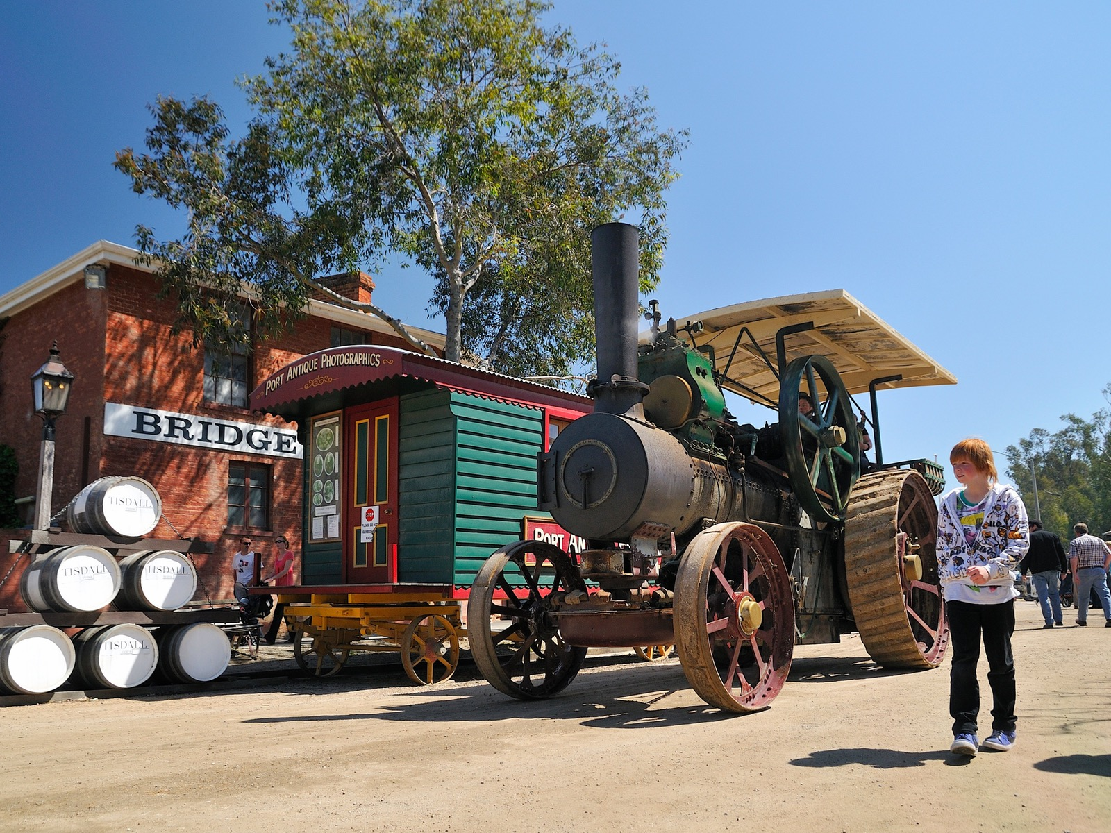 Steam Rally Echuca Moama