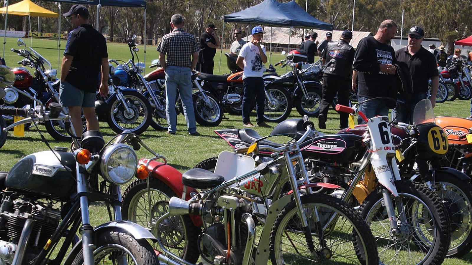 Nathalia Fire Brigade Motorcycle Show
