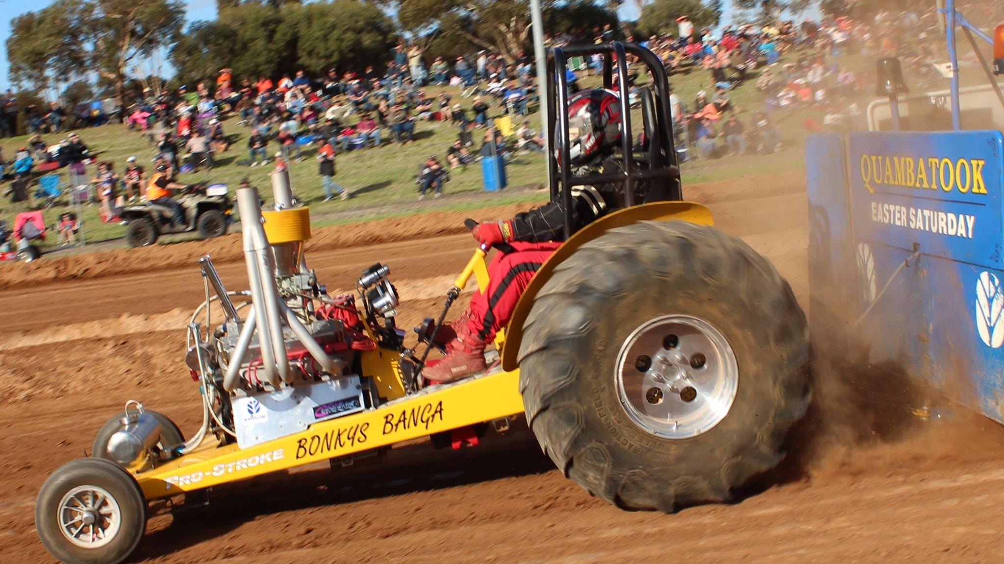 Quambatook Tractor Pullers - Australian Tractor Pull Championships