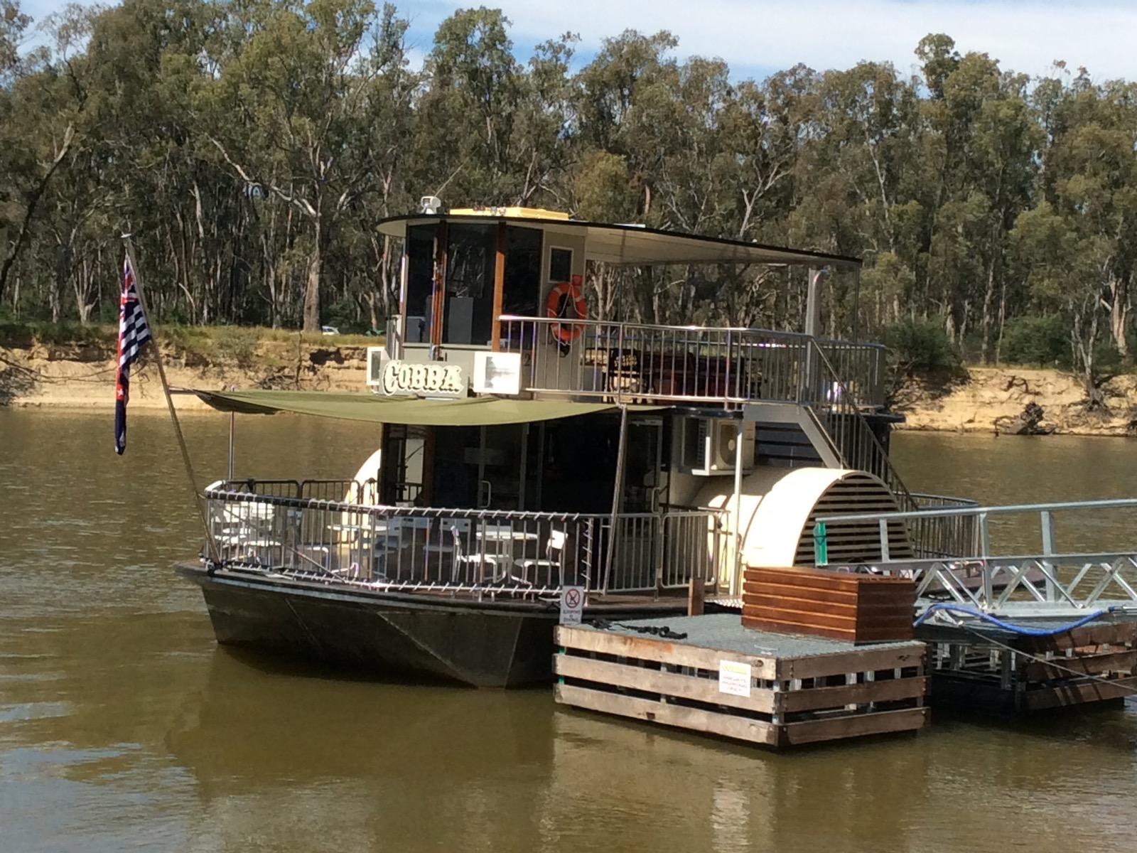 Cobba Paddle Boat