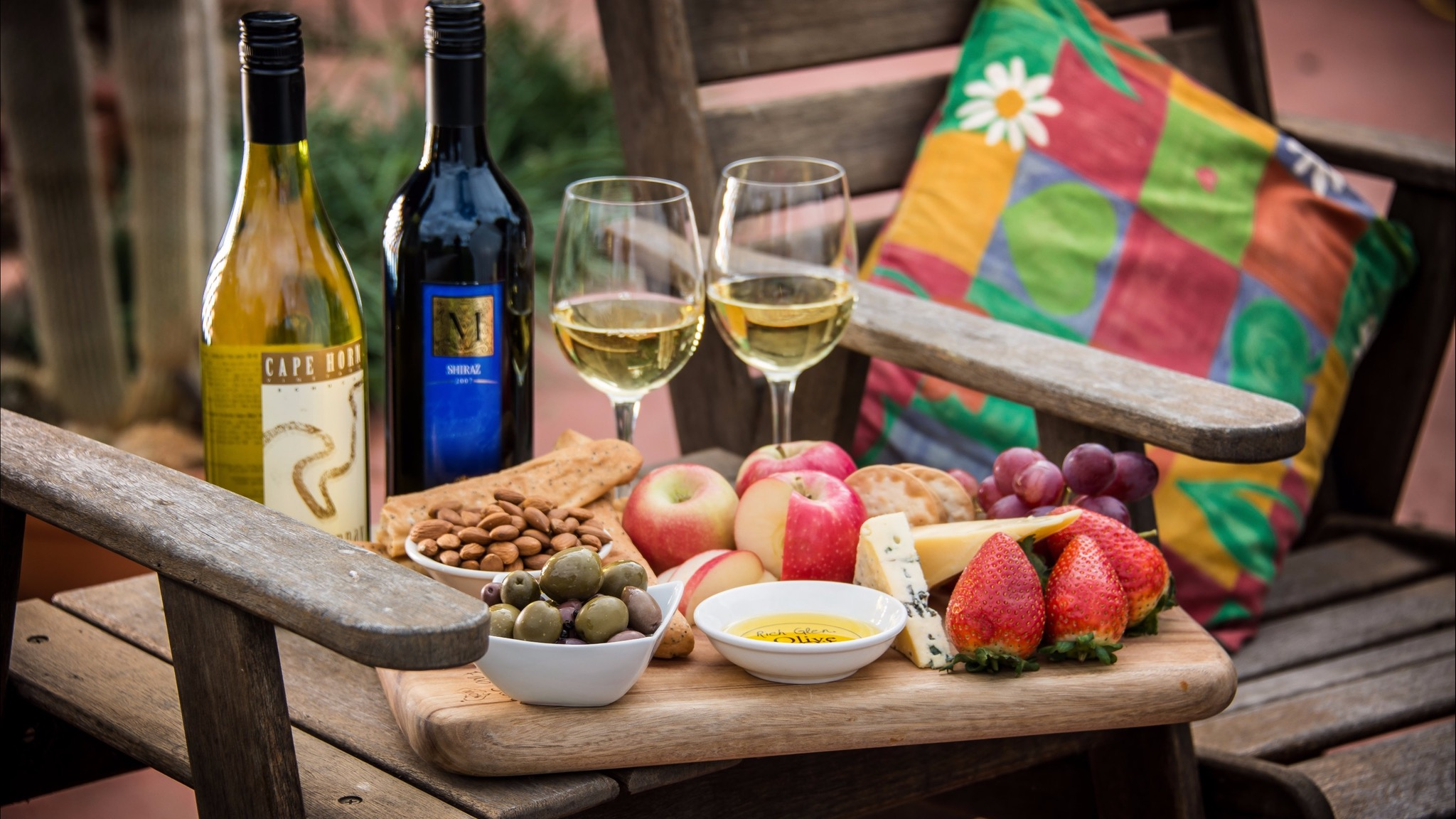 Sun Country on the Murray Food and Wine Platter