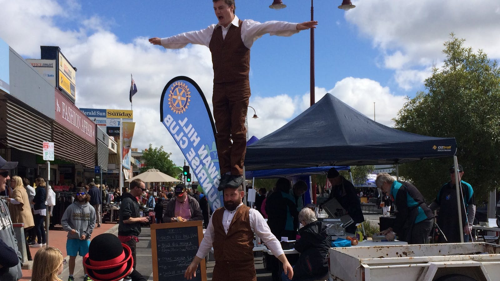 Swan Hill Market Day 2016