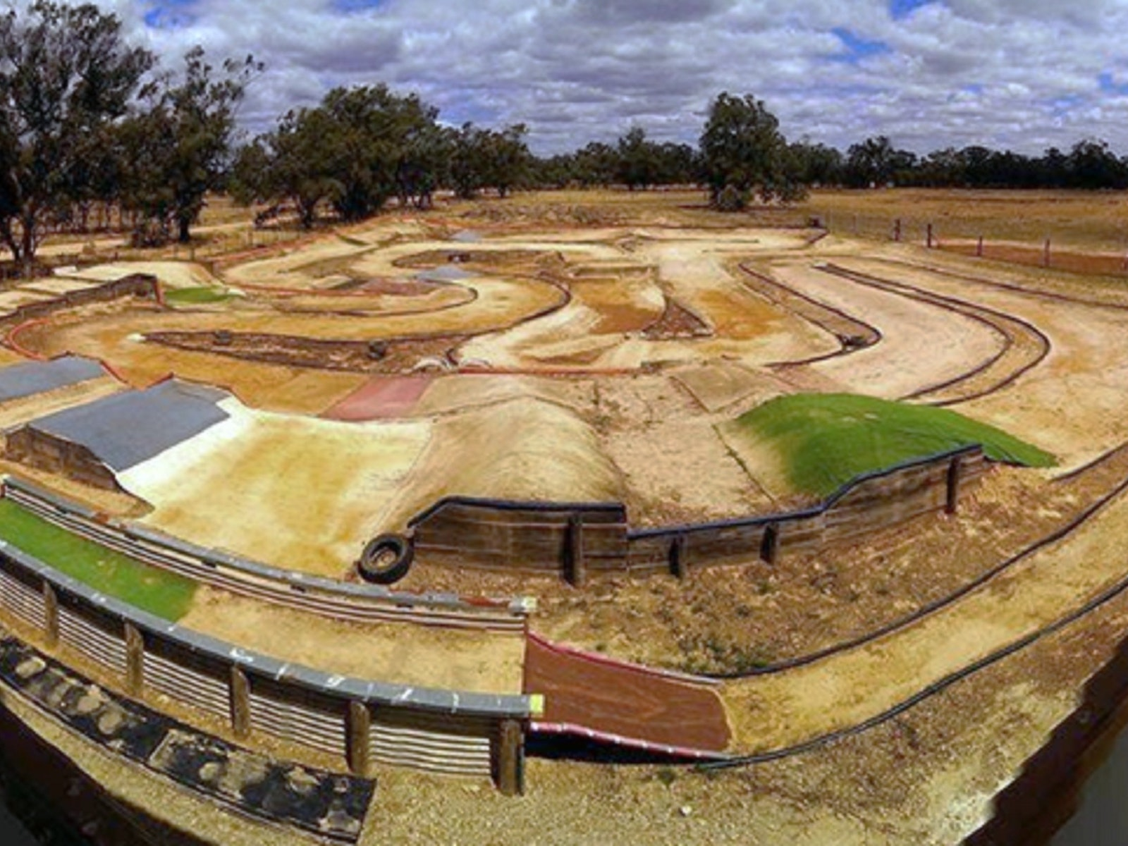 Barmah RC Car Club's Off Road Track