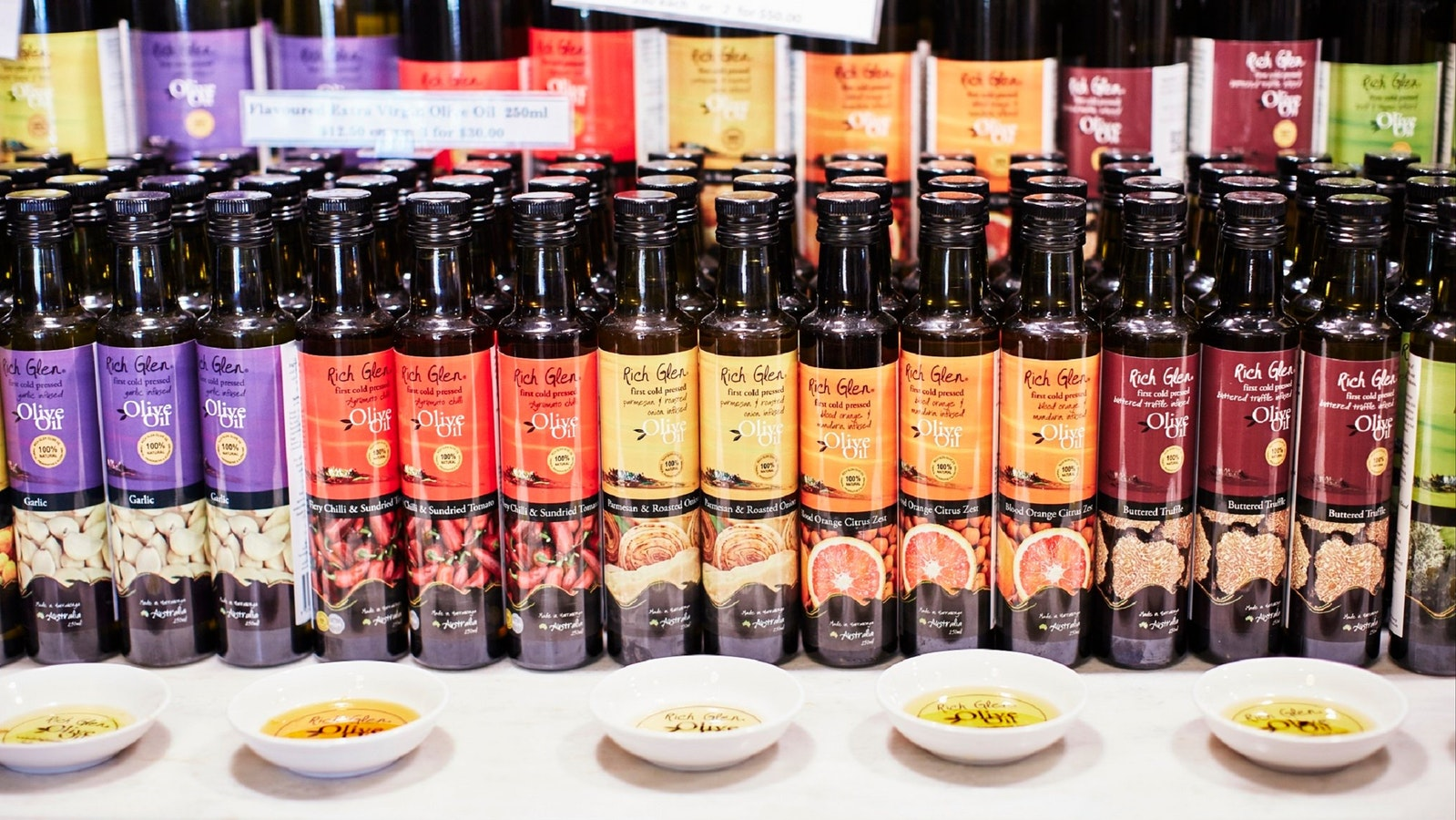 Farmgate Store - Flavoured Oil Tastings