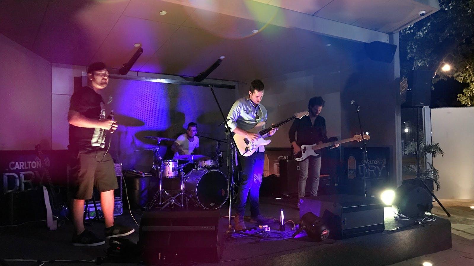 Swan Hill Club live music.