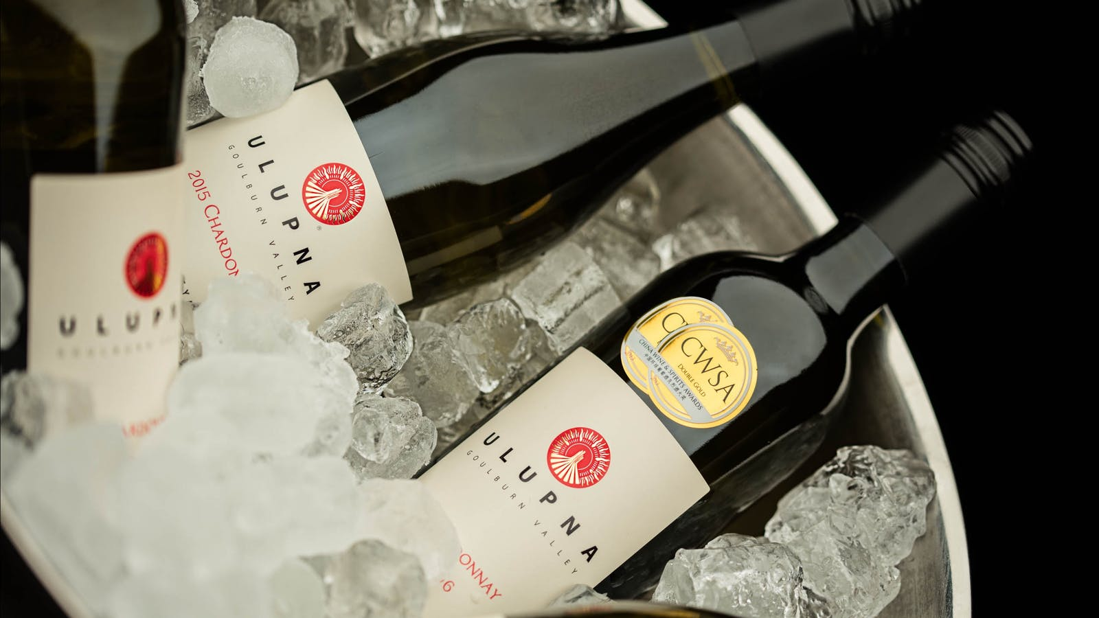 Ulupna Chardonnay on ice