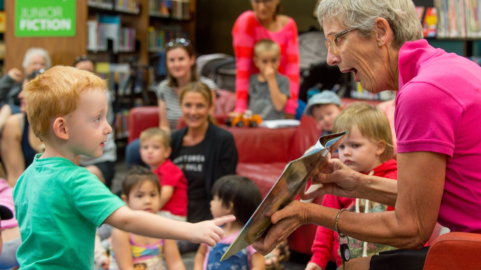Story Time at Wodonga Library