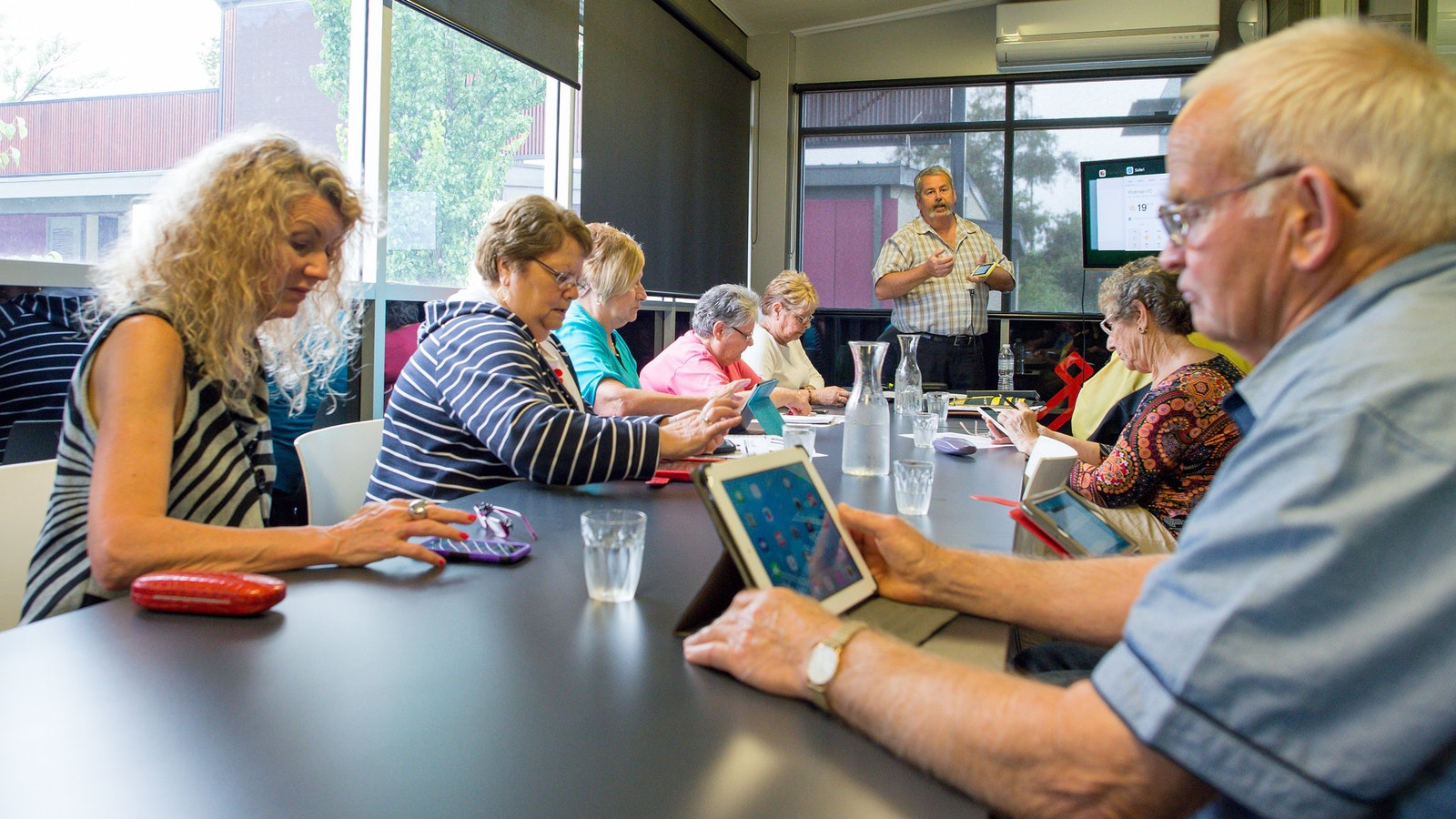 Tech sessions at Wodonga Library