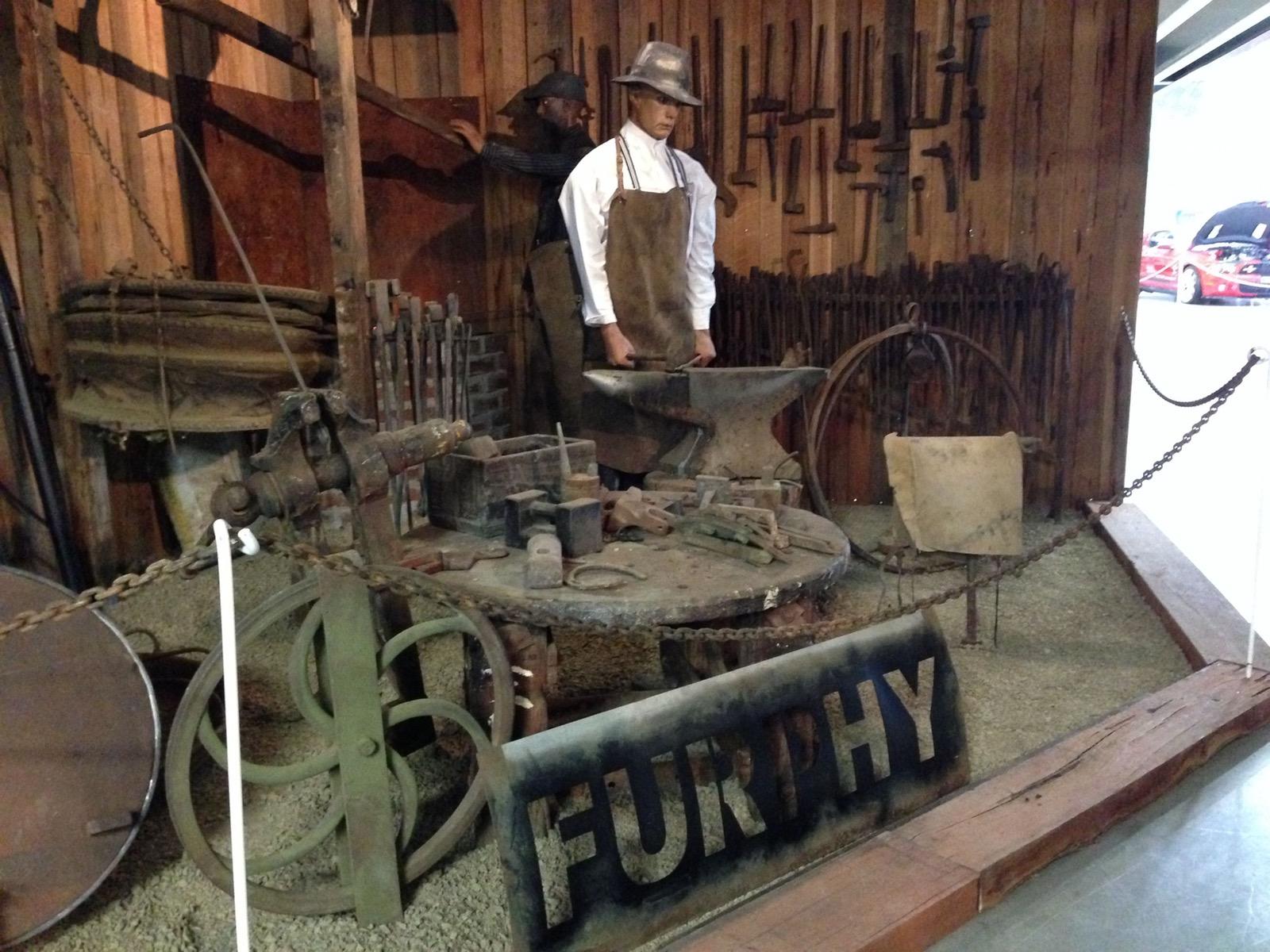 Furphy Museum Display
