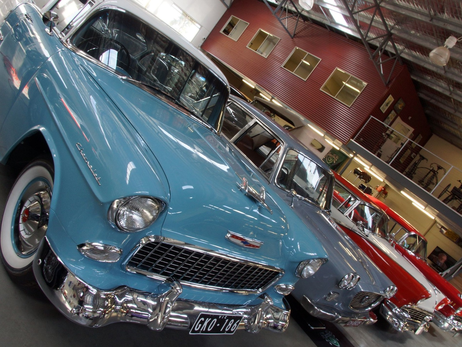 Shepparton Motor Museum Car Display