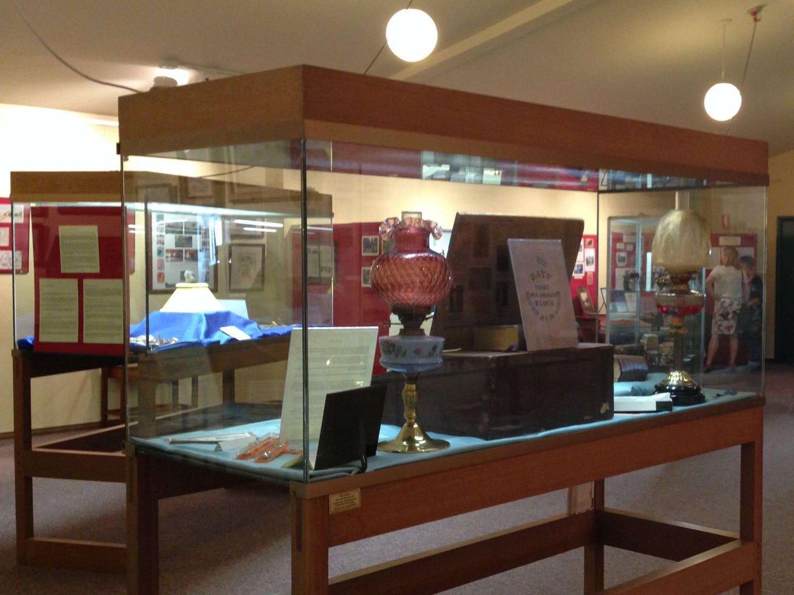 Murchison Museum Interior Display
