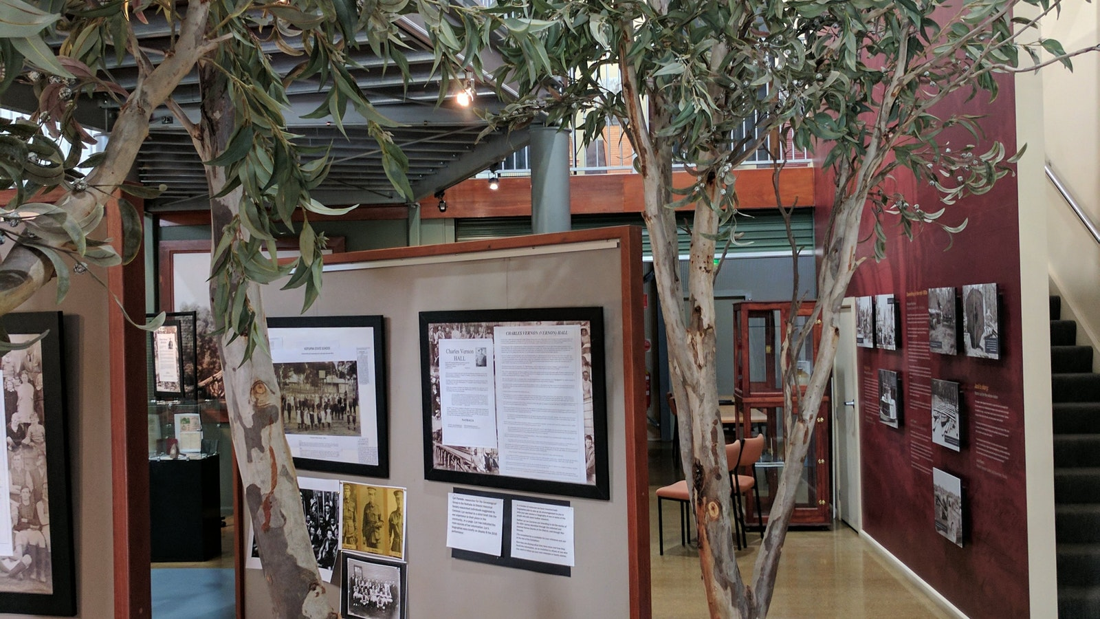 Exhibition at the Barmah Forest Heritage and Education Centre