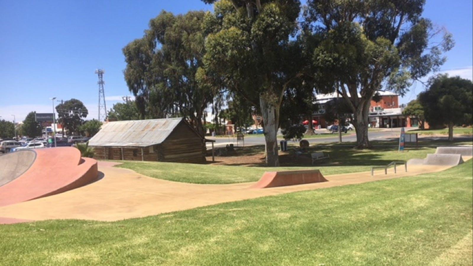 Cobram Skate Park at Federation Park