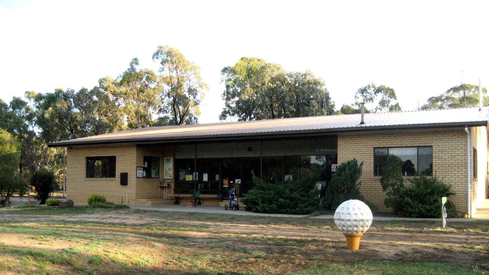 Nathalia Golf Club House