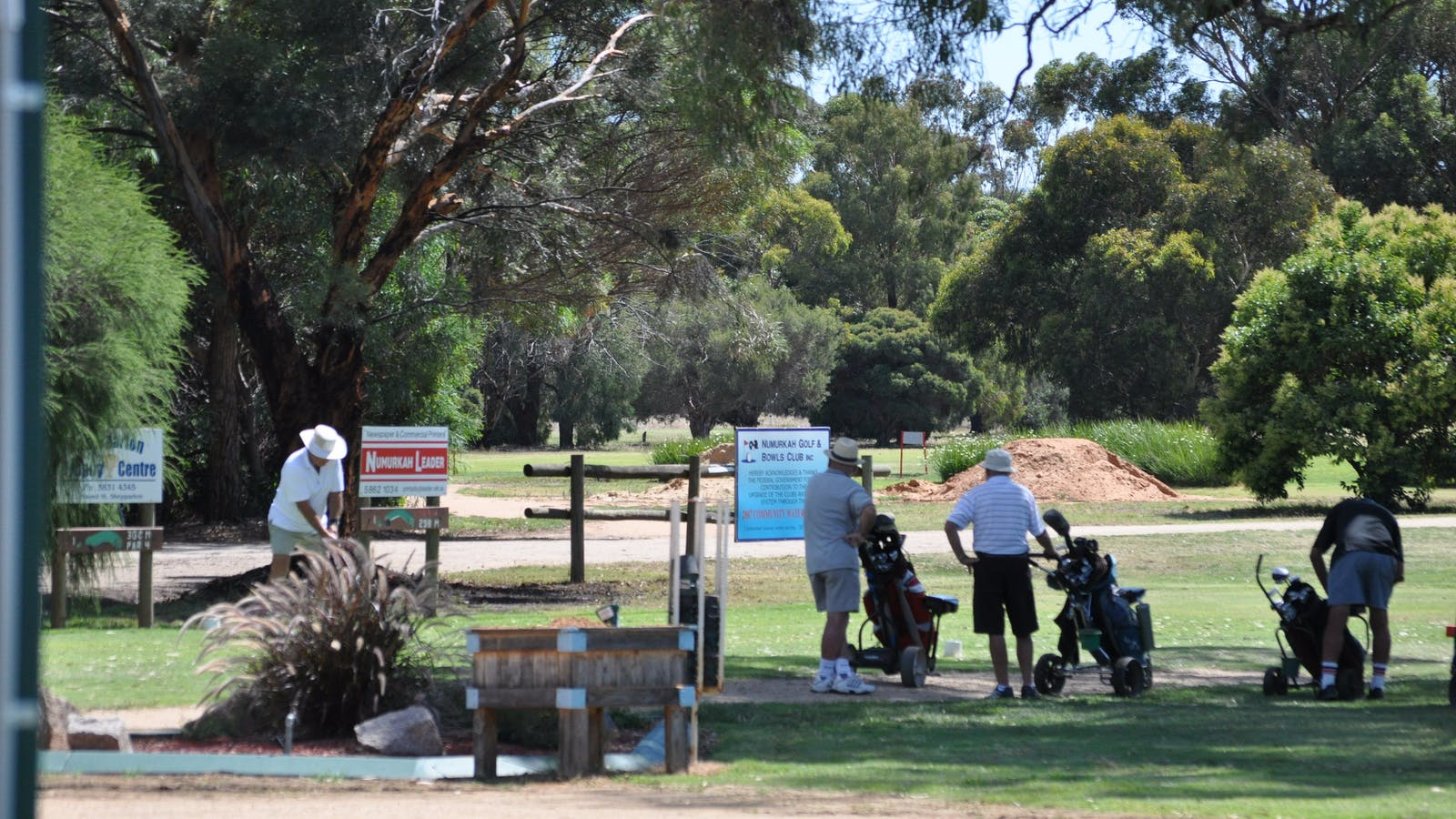 Off to Golf Numurkah Golf and Bowls