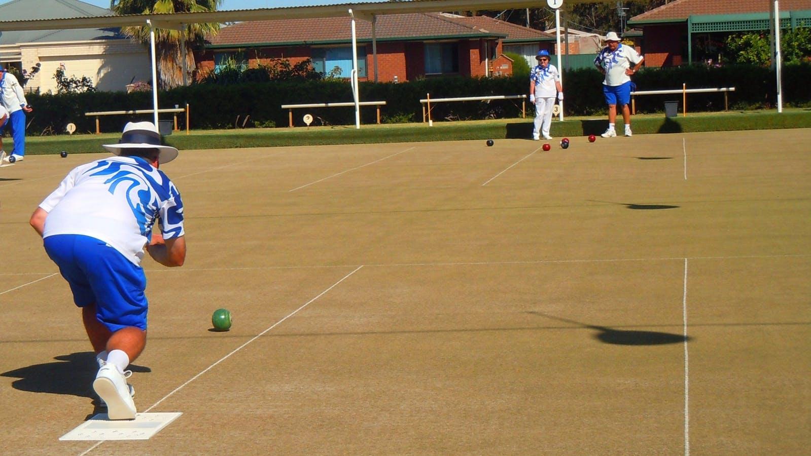 Bowls tournament Numurkah Golf and Bowls