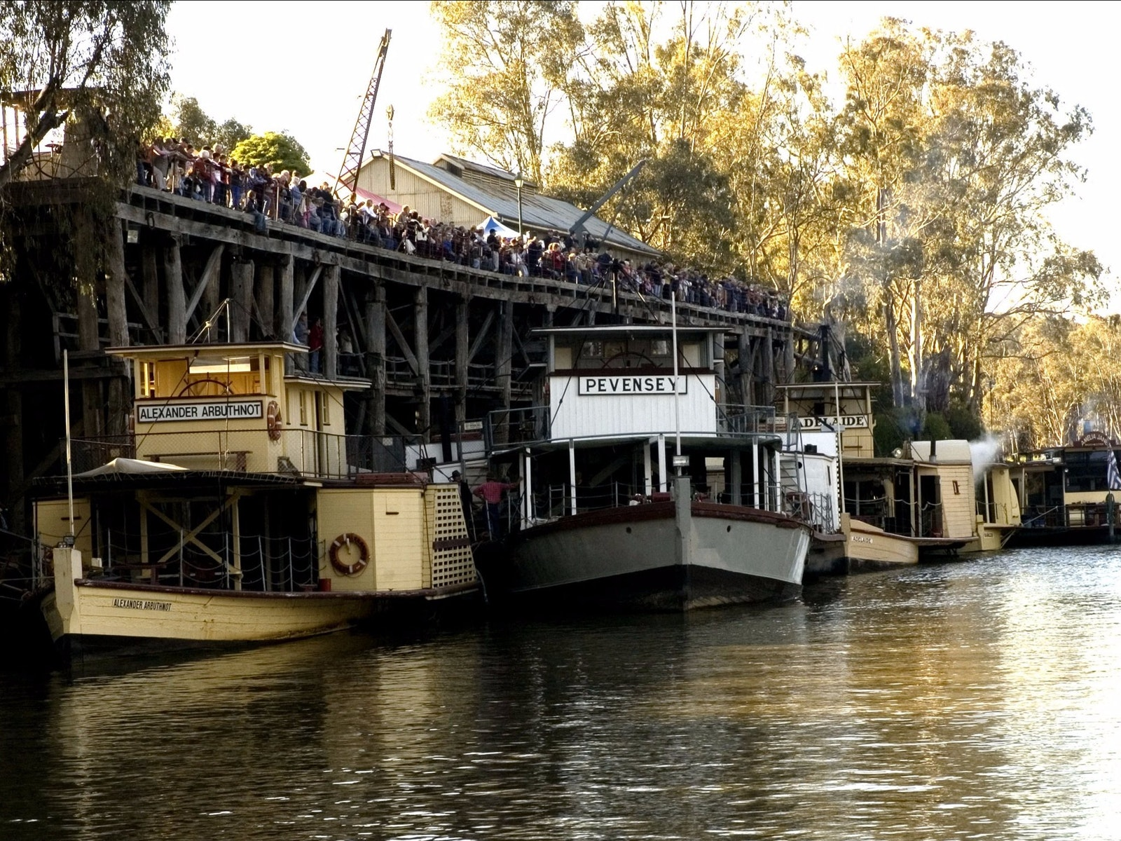 Echuca Paddlesteamers