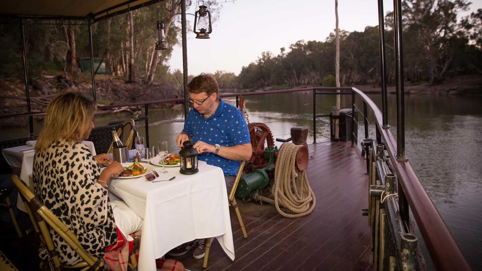 Dinner on the Bow - PS Emmylou