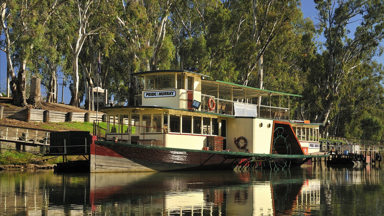 Pride of the Murray at Dock
