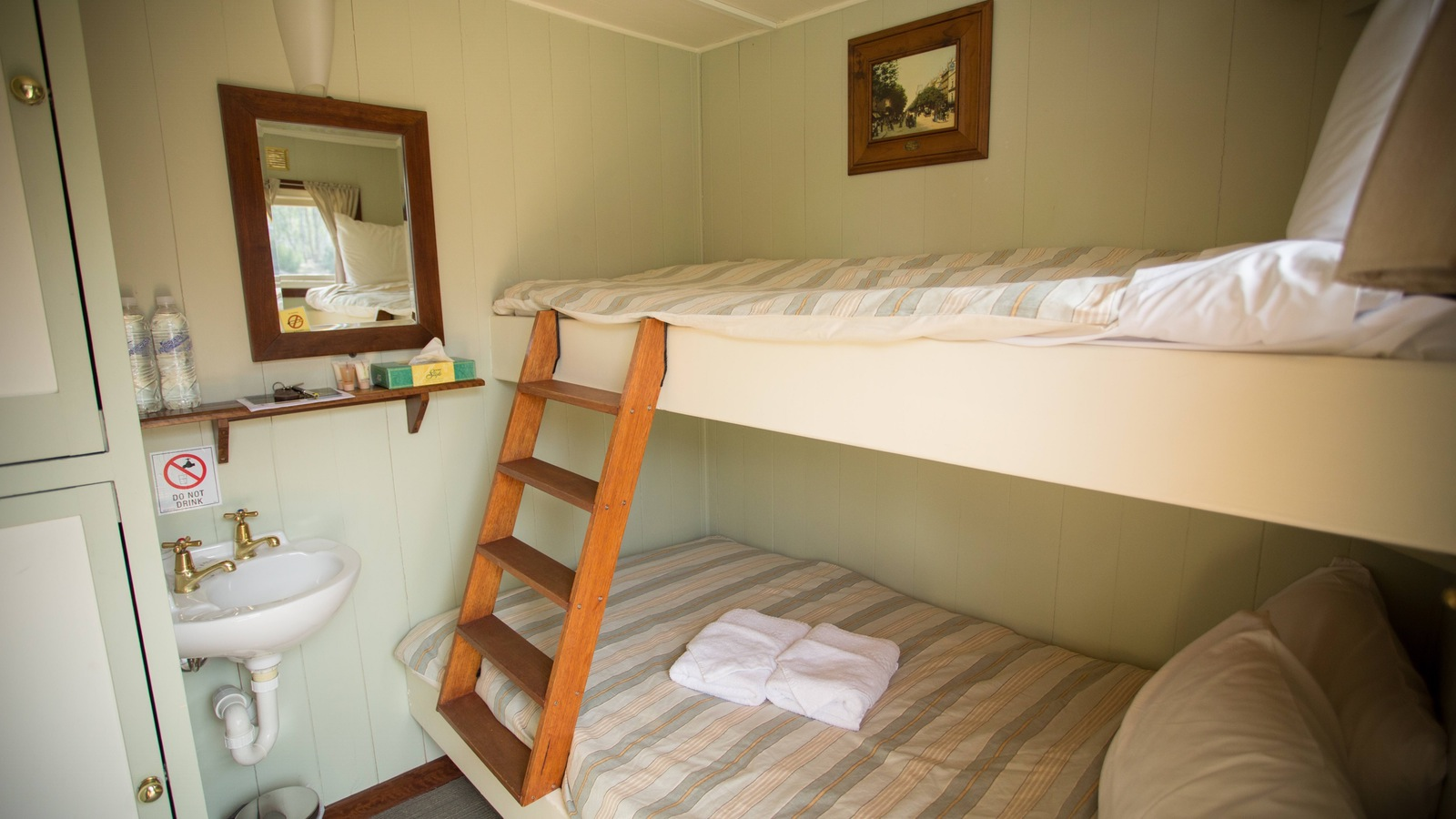 Typical Twin Share Cabin - PS Emmylou