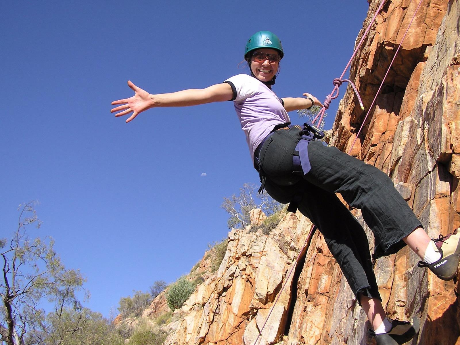 Rock-climbing with GMAC