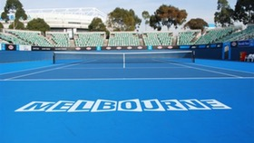 Rod Laver Arena outside show court