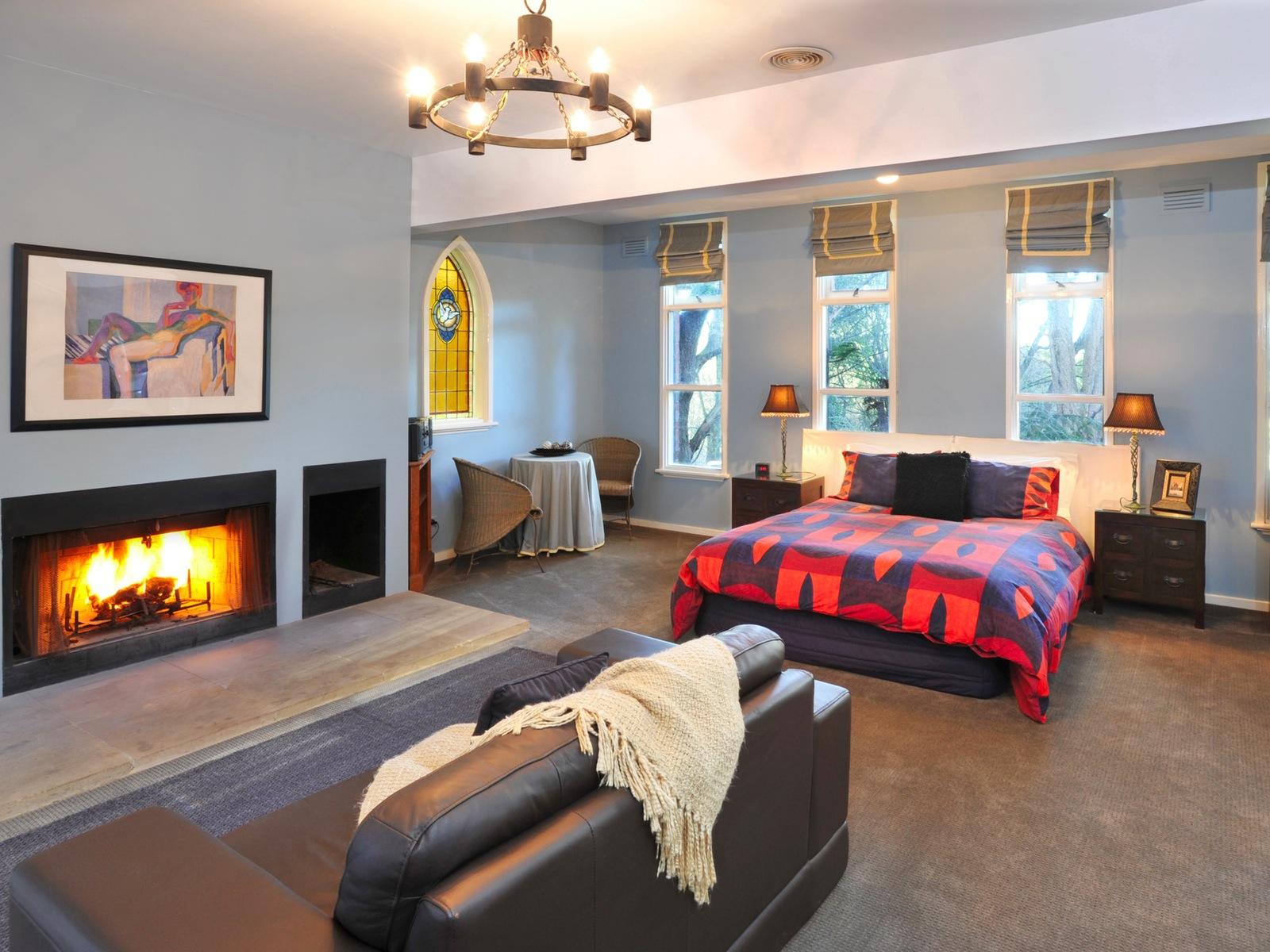 open fire Chapel suite