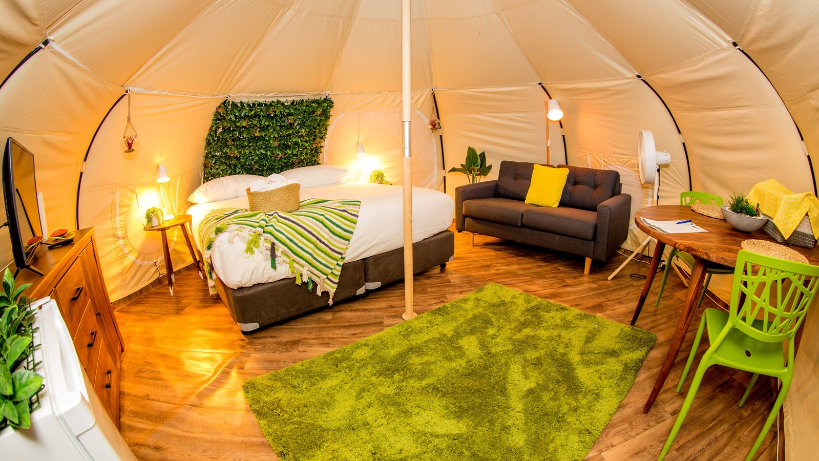 Natural Single Belle Tent