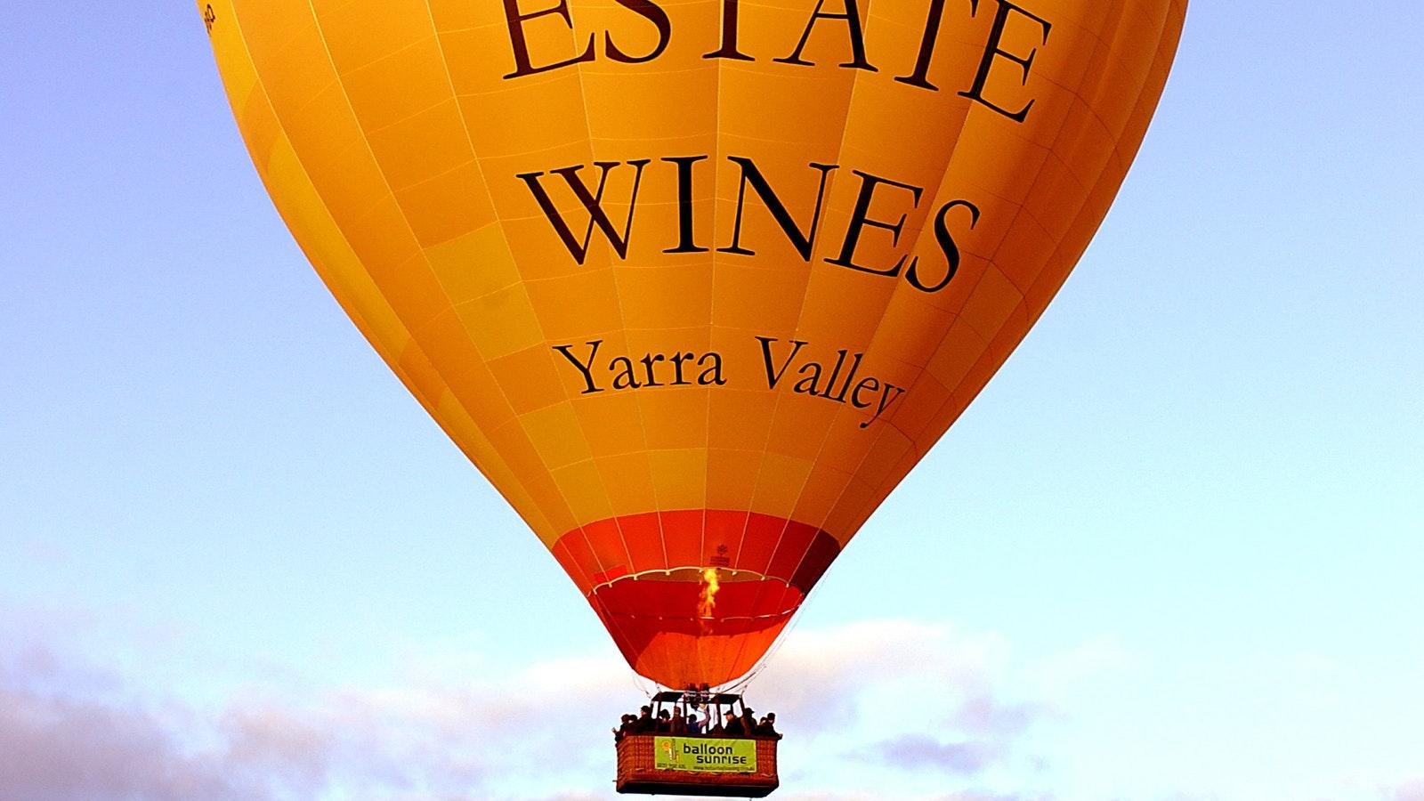 Balloon Flight Yarra Valley