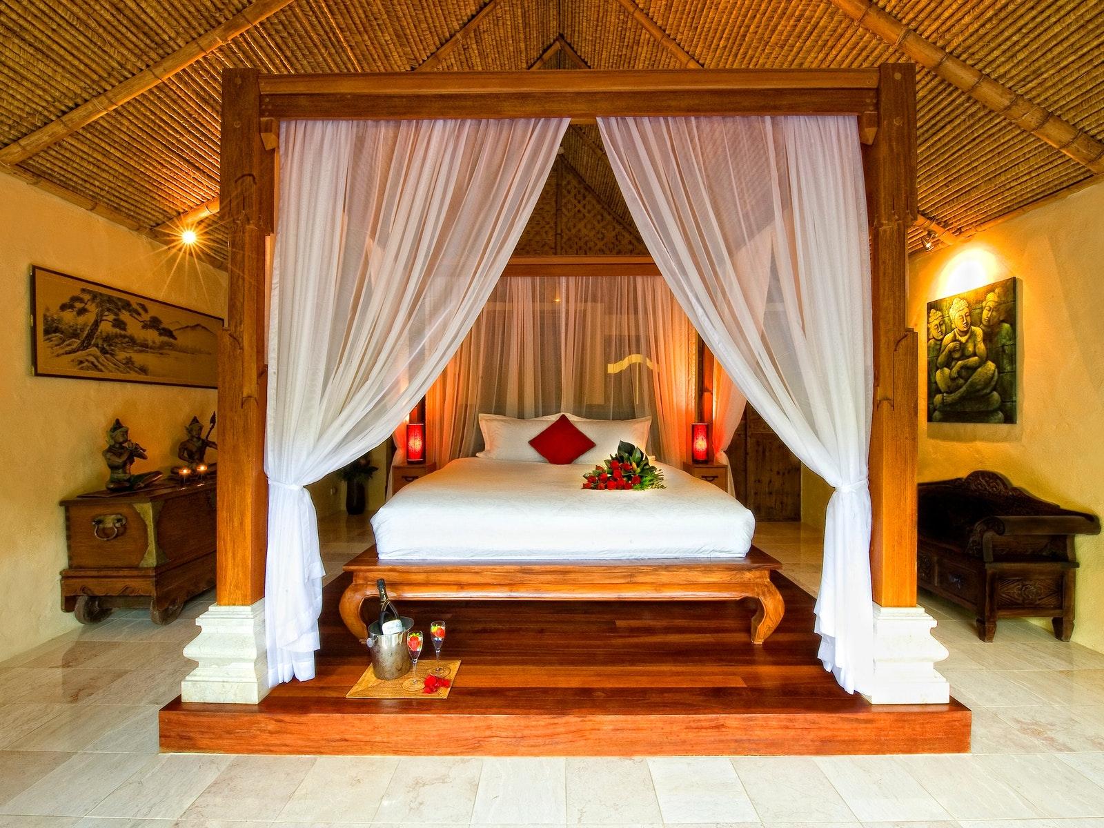 Balinese Retreat Bedroom