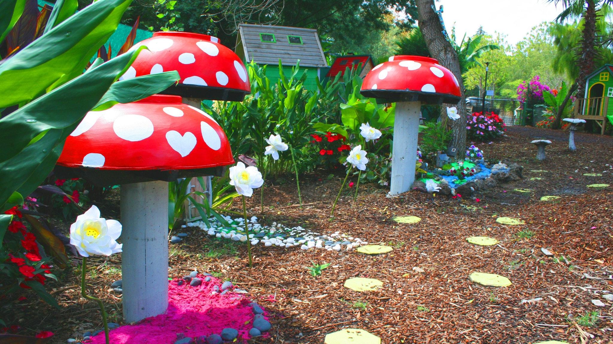 Family fairy garden