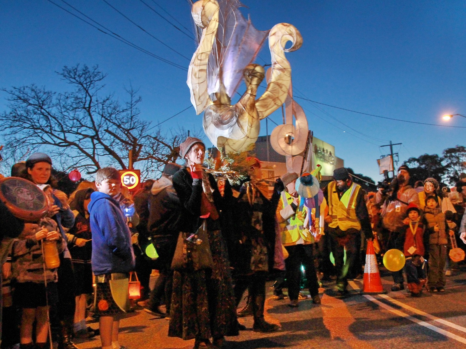 Belgrave Lantern Parade - Photographer: John Weeks