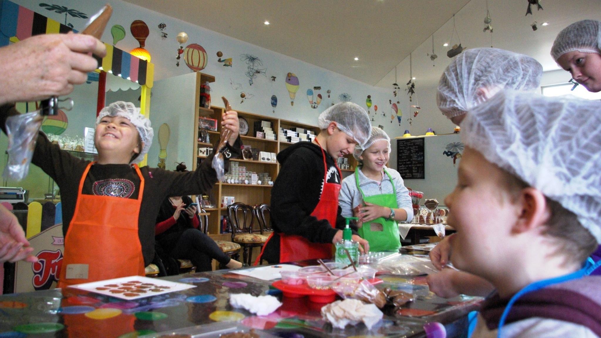 Children's Chocolate Making Class