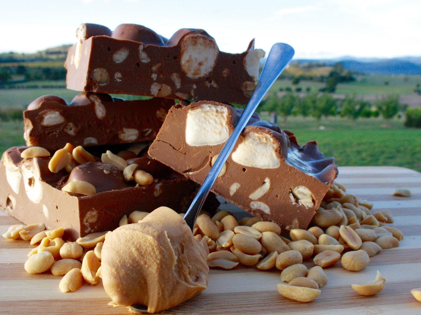 Rocky Road Festival - peanut butter crunch
