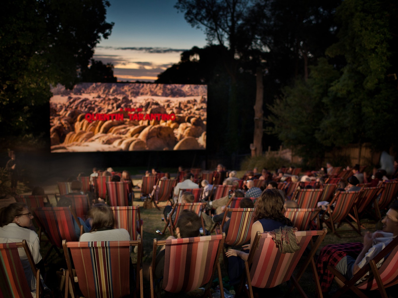 A wide variety of films plays at Cameo Outdoor