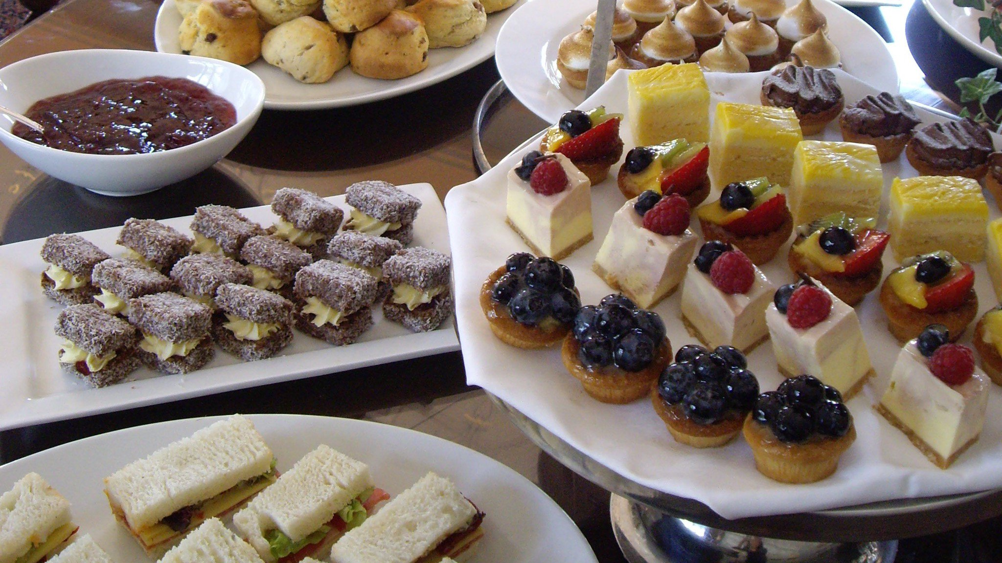High Tea at Chateau Yering Hotel