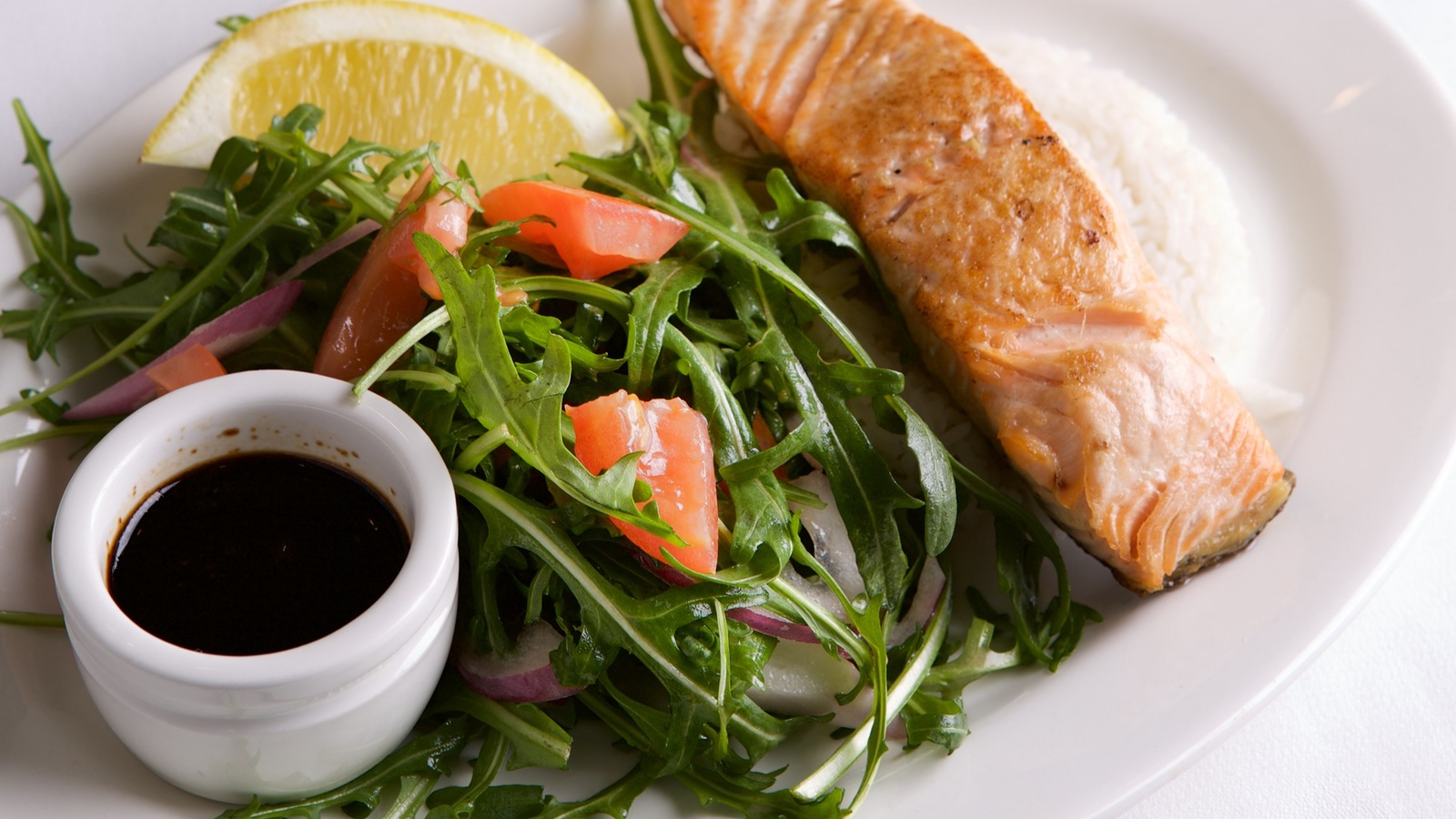 Tasmanian Salmon served aboard Steam & Cuisine After Dark