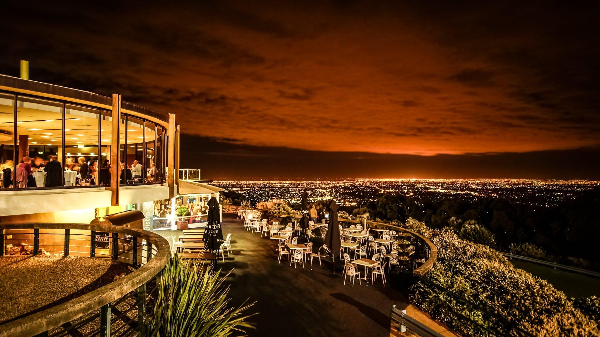 SkyHigh Mount Dandenong night view