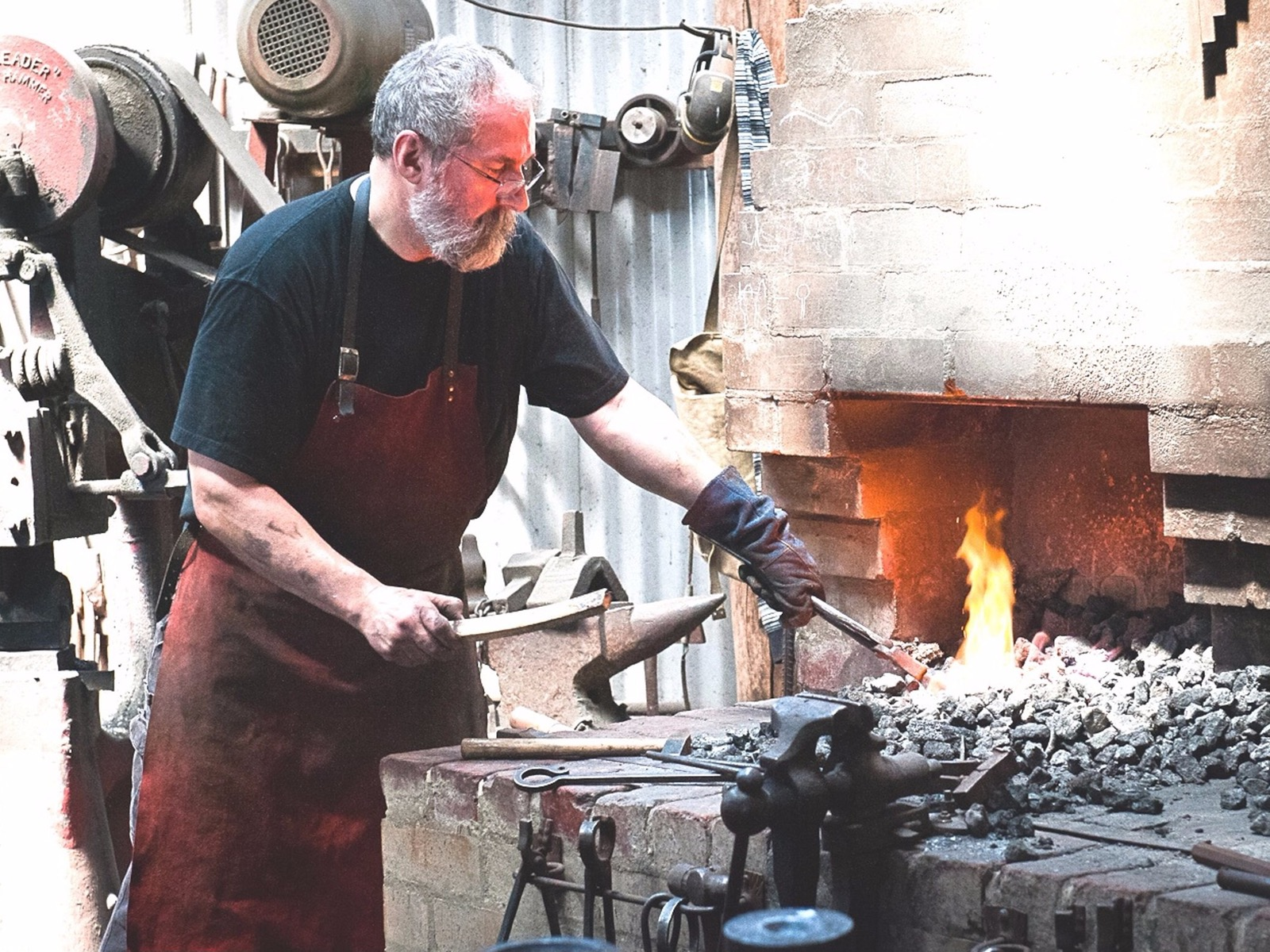 Working Blacksmith