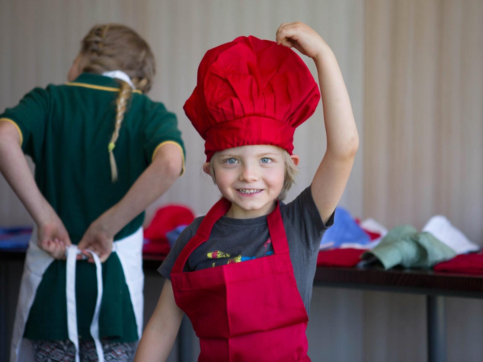 Kid's Cooking Classes at Oakridge Wines