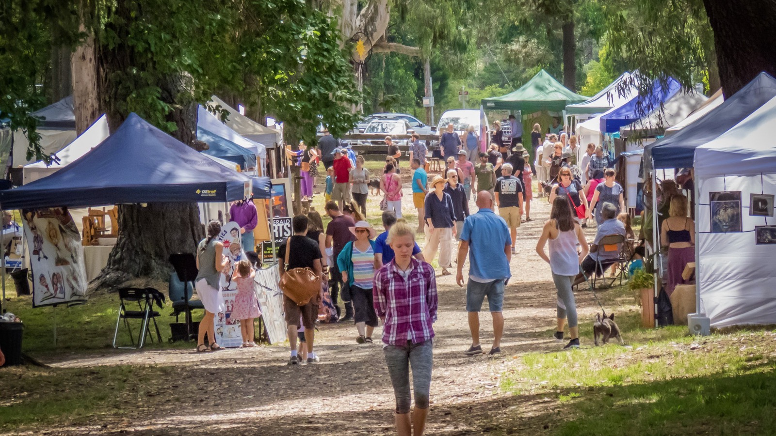 A creative day out at Hills Art Market - Emerald - Dandenong Ranges