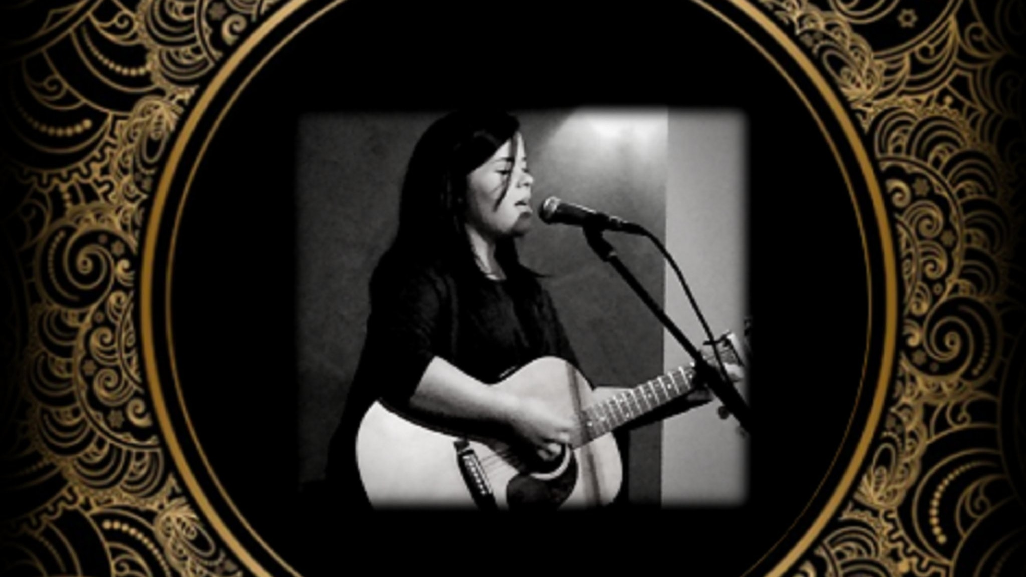 Emma Fenby performs at Herd Bar & Grill