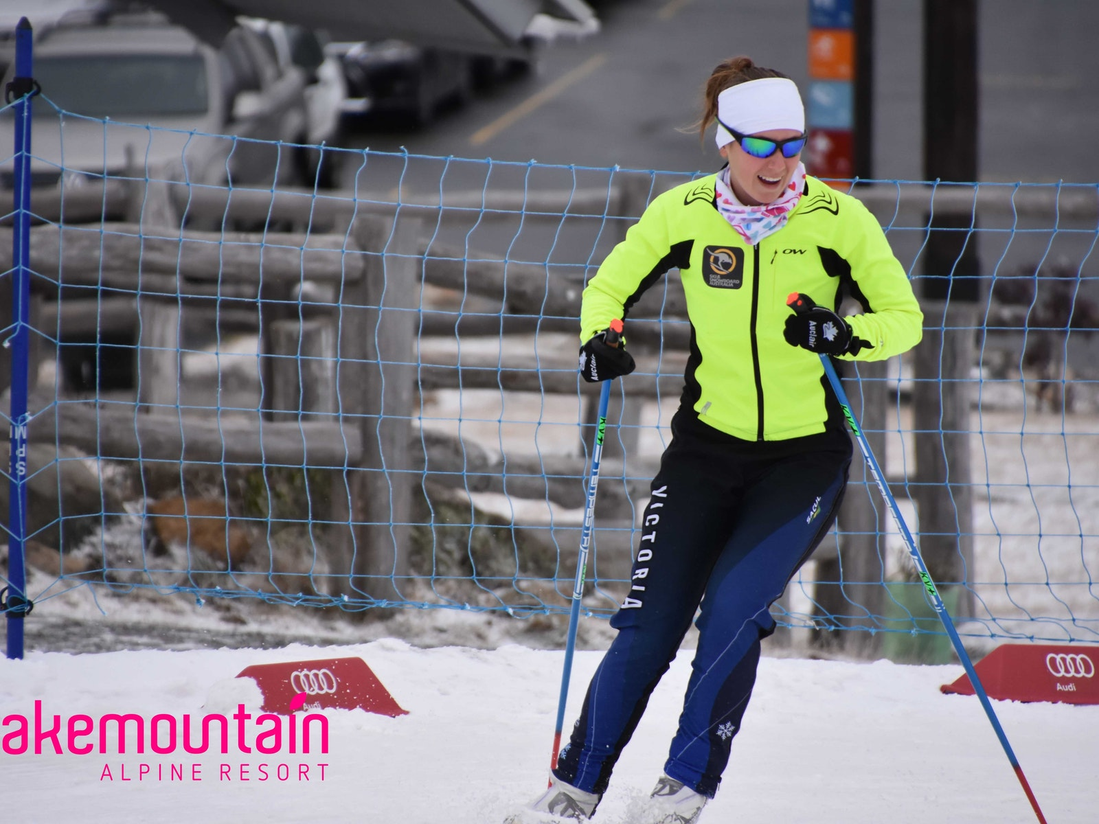 Ladies-On-Skis is a low-pace active lifestyle event