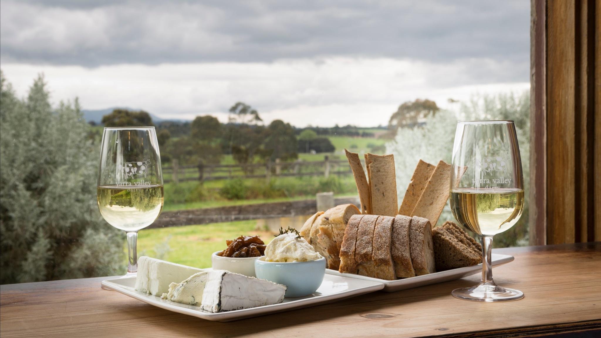 Cheese Platter - Yarra Valley Dairy