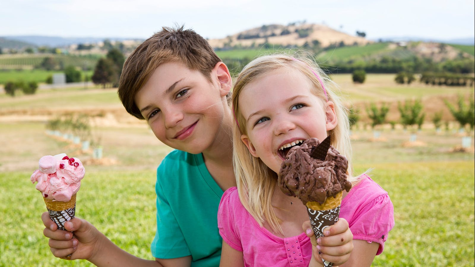 Yarra Valley Chocolaterie ice cream