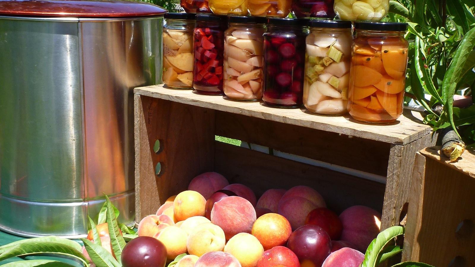 Fruit Bottling Workshops