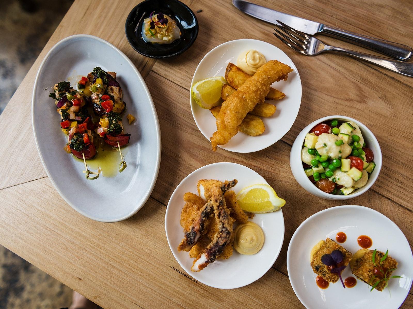 Levantine Food Menu