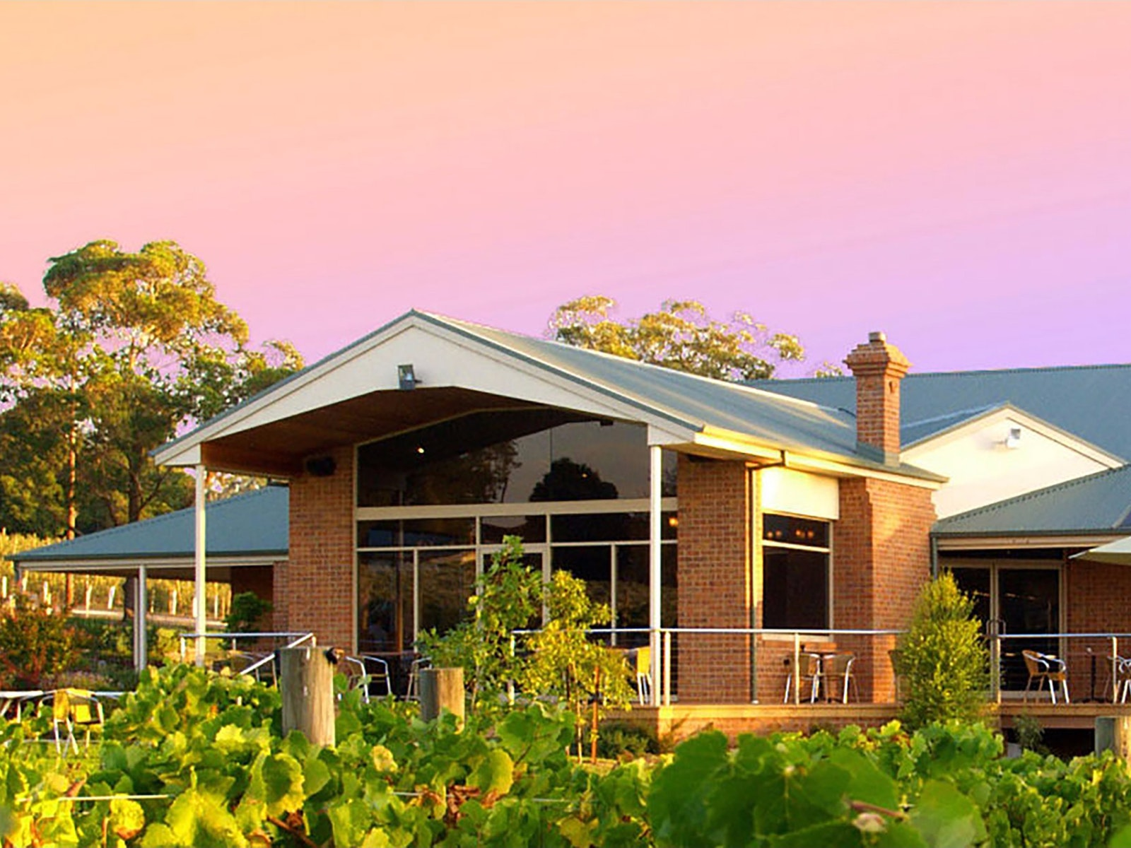 Wild Cattle Creek Estate Winery Restaurant
